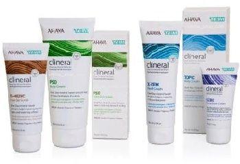 Дермо-косметическая линия /Clineral Ahava