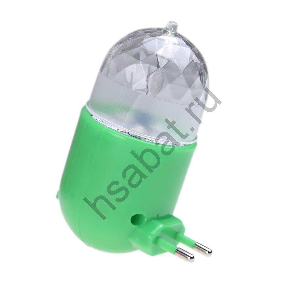 Ночник многоцветный с вращением H11076