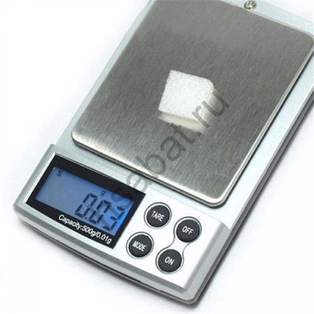 Весы электронные ювелирные 0.01г / 500г