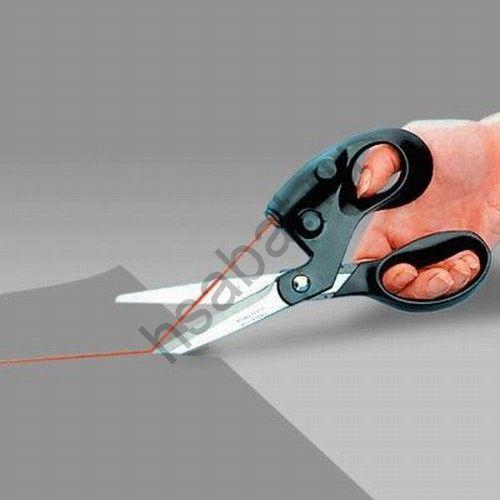Ножницы с лазером.