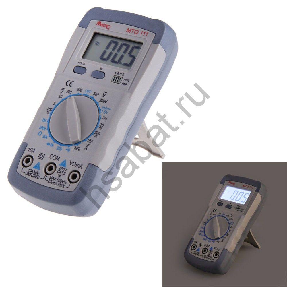 Мультиметр тестер цифровой MTQ 111 (A830l)