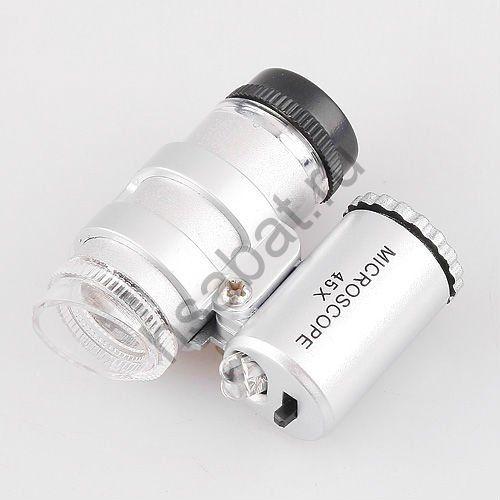 Цифровой микроскоп карманный 45X