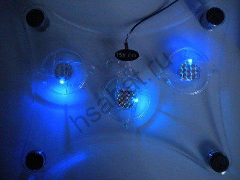 Охлаждающая подставка для ноутбука Neon