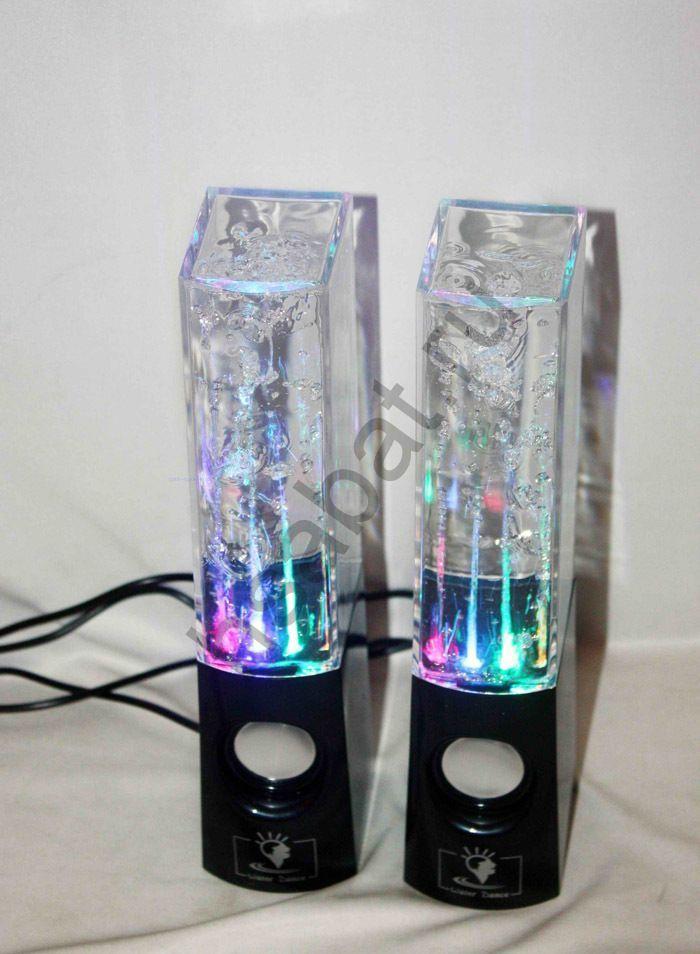 Аудиоколонки с фонтанами