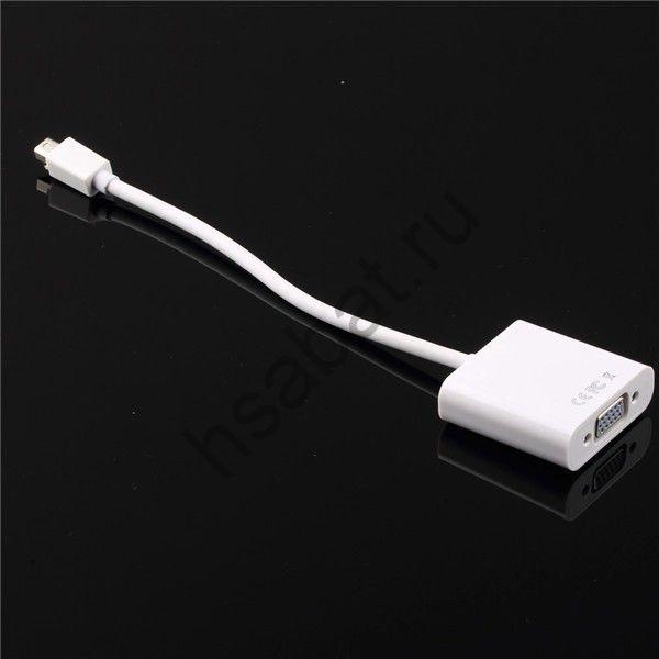 мини 3 дюймов DisplayPort DP на VGA кабель для MacBook