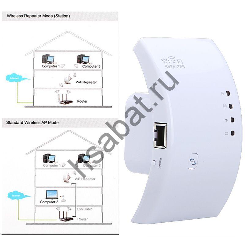 Wi-Fi ретранслятор 802.11N/B/G C1299