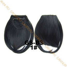 Искусственные термостойкие волосы - Челка №001 - 30 гр.