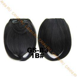 Искусственные термостойкие волосы - Челка №001B - 30 гр.