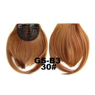 Искусственные термостойкие волосы - Челка №030 - 30 гр.