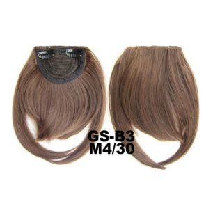 Искусственные термостойкие волосы - Челка №M004/30 - 30 гр.