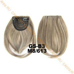 Искусственные термостойкие волосы - Челка №M008/613 - 30 гр.