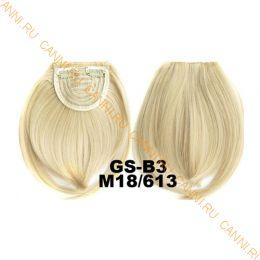 Искусственные термостойкие волосы - Челка №M018/613 - 30 гр.