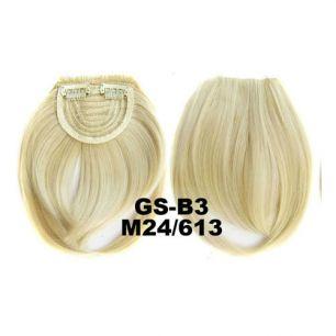 Искусственные термостойкие волосы - Челка №M024/613 - 30 гр.