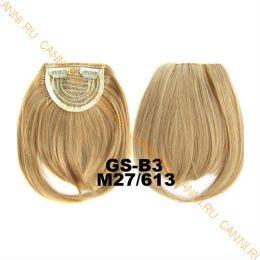 Искусственные термостойкие волосы - Челка №M027/613 - 30 гр.