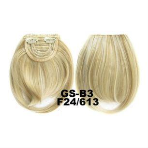 Искусственные термостойкие волосы - Челка №F024/613 - 30 гр.
