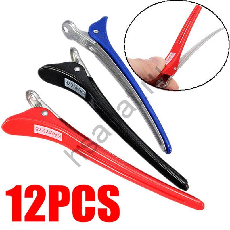 Заколки для разделения волос 12 шт  app11cm