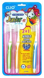 Clio Зубная щетка набор 3шт Junior R 2+1