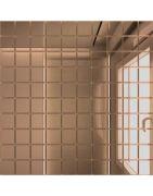 Мозаика зеркальная Бронза Б25 ДСТ 30x30 (2,5х2,5)