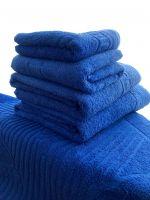 Комплект махровых полотенец синий, Туркменистан