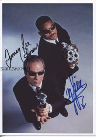 Автографы: Уилл Смит, Томми Ли Джонс. Люди в черном