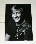 Автограф: Жерар Депардье