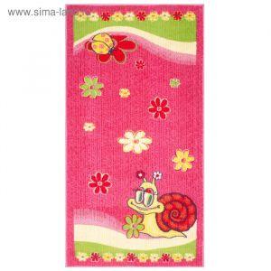 Ковёр детский Delta, размер 140х200 см, цвет розовый   2721123