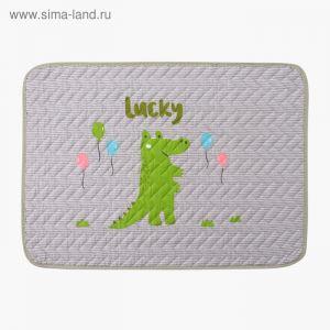"""Коврик детский Крошка Я """"Lucky"""" 40х60 см,хлопок, п/э    3938761"""