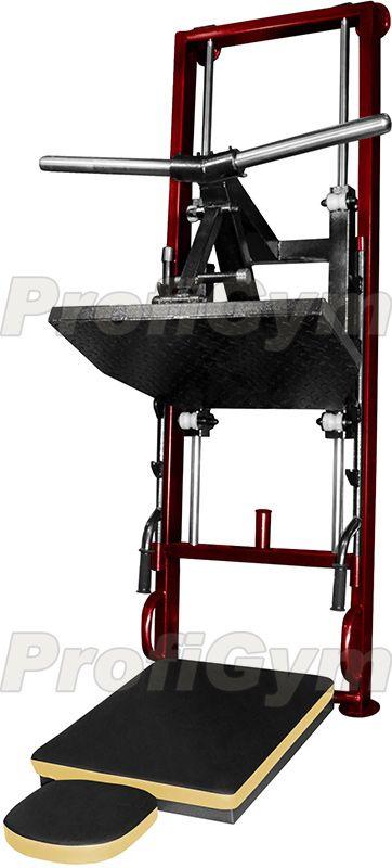 ТД-031 Станок для жима ногами пристенный, складной серия Rubin