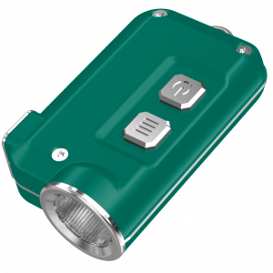 Мощный фонарь-наключник Nitecore TINI Зеленый