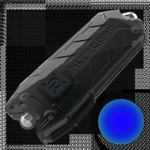 Наключный фонарь Nitecore TUBE BL с синим светом