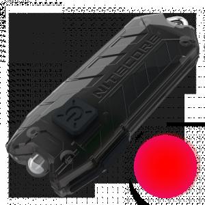 Наключный фонарь Nitecore TUBE RL с красным светом