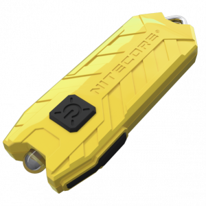 Фонарь наключный Nitecore TUBE Желтый