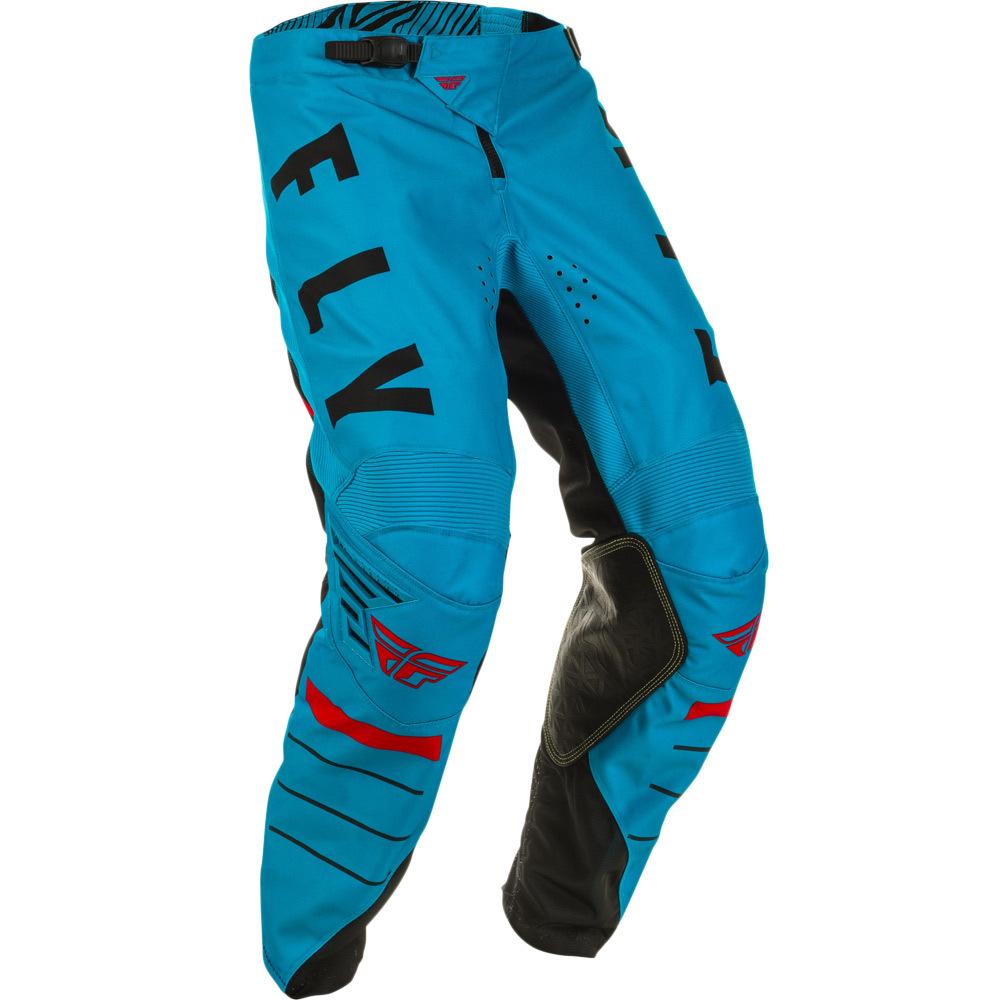 Fly - 2020 Kinetic K120 Blue/Black/Red штаны, сине-черно-красные