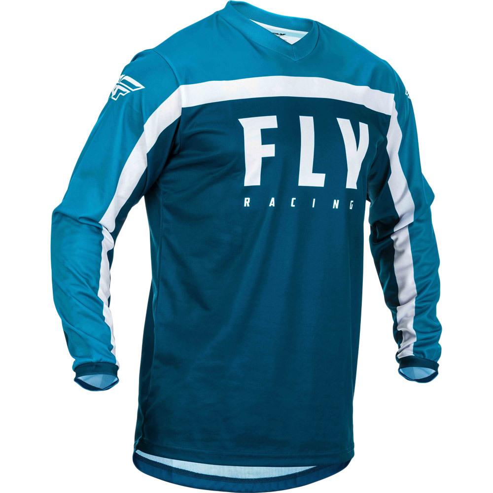 Fly - 2020 F-16 Navy/Blue/White джерси, сине-белое