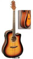 Электроакустическая гитара шестиструнная FLIGHT AD-200 CEQ / 3TS