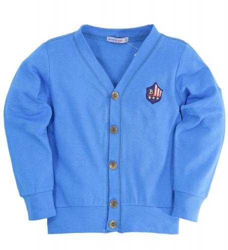 Кардиган для мальчиков 7-11 лет Bonito голубой