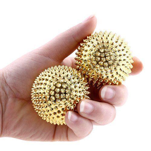 Массажные магнитные шары BP348 (4 шт.)