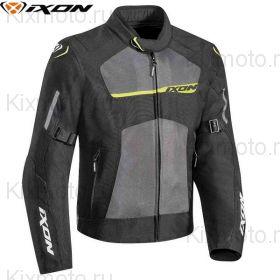 Мотокуртка Ixon Raptor, Черный/серый/желтый