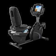 Горизонтальный велотренажер True C900 + консоль Emerge