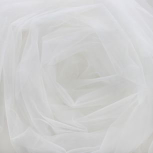 Мягкий фатин (еврофатин) 300х25 см  - молочный