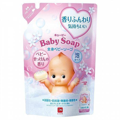 """Детская пенка """"2 в 1"""" для волос и тела с 1х дней жизни (Без слез) аромат детского мыла """"Kewpie"""" 300 мл"""