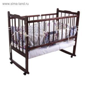 """Комплект в кроватку """"Эдельвейс"""" (6 предметов), цвет розовый 10010 1517178"""