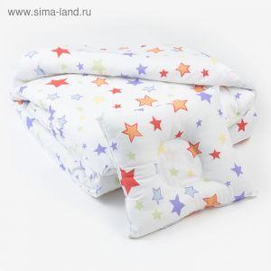 Комплект в кроватку (Одеяло детское, подушка фигурная) Млечный путь   4301177