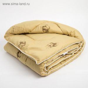 Одеяло, размер 110х140 см, вербл. шерсть/тик (чемодан)   4315607