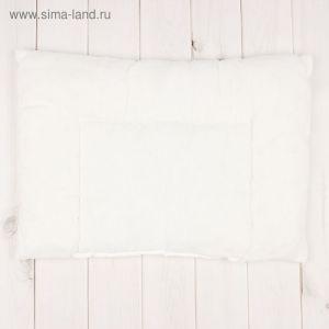 """Подушка """"Эдельвейс"""", размер 40х60 см, цвет белый 18016 2083802"""