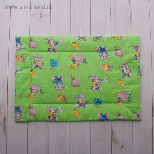 Подушка детская, размер 40х60 см, цвет МИКС 18006-С 1385158