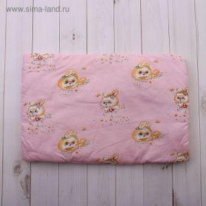 Подушка для девочки, размер 40х60 см, цвет МИКС 18006-С 1385159