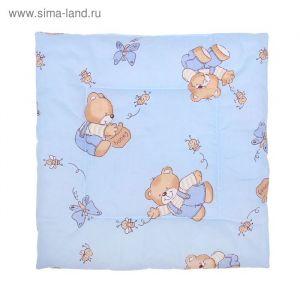 Подушка для мальчика, размер 40х40 см, цвет МИКС 18010-С 1385160