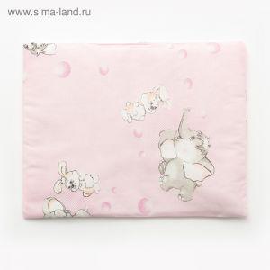 Подушка, размер 30*40 см, цвет розовый, набивка МИКС 214 1424000