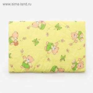 Подушка, размер 40*60 см, цвет зелёный, набивка МИКС 224 1424005